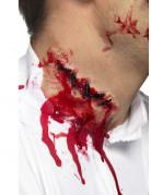 Halloween Horror Latex Applikation Grobe Naht beige 10cm
