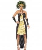 Meerkönigin-Halloween-Kostüm bunt