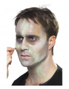 Zombie Make-Up-Set Halloween 7-teilig grau-grün