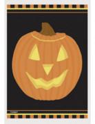 Halloween Tüten Kürbis Geschenktüten 50 Stück orange-schwarz 10x15cm