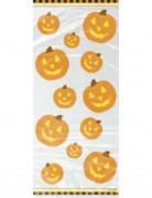 Halloween-Geschenktüten Kürbis-Partytüten 20 Stück orange 28x13cm
