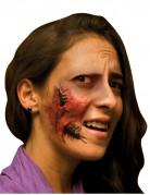 Wunde Halloween Makeup rot-braun
