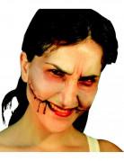 KünstlicheZombie-Wunde beige-rot