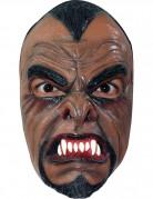 Schauriger Werwolf Halloween-Latexmaske braun