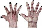 Monster Handschuhe hell für Erwachsene