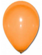 Party-Ballons Luftballons 12 Stück orange 28cm