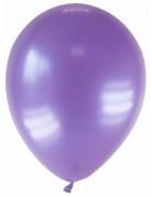 Luftballons 12 Stück metallic-violett 28cm
