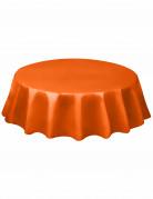 Runde orange Tischdecke orange