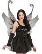 Riesen-Flügel Dunkle Fee schwarz 76x107cm