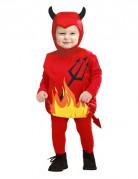 Teufelskostüm für Kleinkinder rot