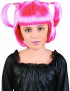 Kinder-Perücke pink