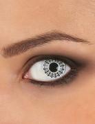 Spinnennetz Kontaktlinsen Halloween-Kontaktlinsen weiss-schwarz