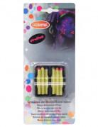UV-Makeup Halloween-Schminke 6 Stück neonfarben 7,2g