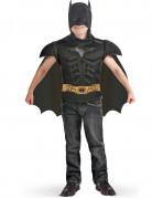 Batman™-Kostüm Brustpanzer mit Umhang für Kinder schwarz-goldfarben