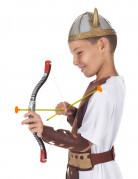 Pfeil und Bogen für Kinder Spielzeug-Waffe grau-schwarz