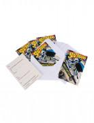 Batman™-Einladungskarten mit Umschlägen 6 Stück bunt 10x16cm