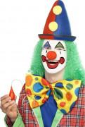 Riesige Spritzende Clown-Fliege Scherzartikel gelb-bunt