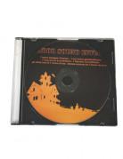 Halloween-CD orange-schwarz