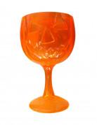 Kürbis-Kelch Halloween-Partydeko orange 18cm