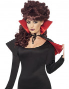 Mini Vampir Cape schwarz-rot