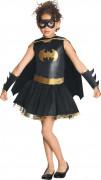 Batgirl™-Mädchenkostüm mit Pailletten schwarz-gold