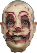 Serienmörder Halloween-Maske für Erwachsene beige-rot