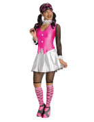 Monster High™ Draculaura Halloween-Damenkostüm Lizenzware pink-weiss