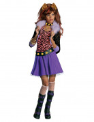 Monster High Clawdeen Wolf Werwolf Halloween Teen-Kostüm lila-pink-schwarz