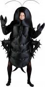 Kakerlaken-Kostüm für Erwachsene schwarz