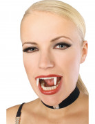 Vampir-Gebiss phosphoreszierend weiss