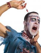 Halloween Spritzen-Haarreif Kostümzubehör 14cm