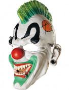 Punkige Clowns-Maske für Erwachsene