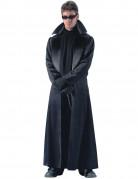 Dunkler Mantel Vampirkostüm Science-Fiction-Mantel schwarz