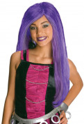 Monster High Spectra Vondergeist Kinder Perücke Lizenzware lila