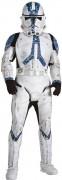 Klonkrieger™-Deluxekostüm für Kinder Star Wars™ weiss-blau