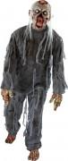 Vermoderter Zombie Halloween-Herrenkostüm Untoter grau-haut