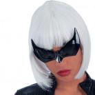 Fledermaus Brille Kostüm-Zubehör schwarz