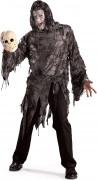 Makaberes Kostüm für Herren schwarz-grau