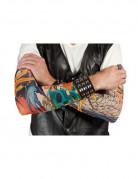 Tattoo-Ärmel Kostümaccessoire bunt
