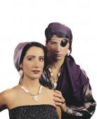 Pirat Kostüm-Zubehör Accessoires bunt