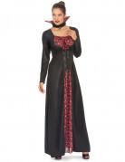 Noble Vampirdame Halloweenkostüm schwarz-rot