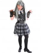 Süßes Monster Halloween Kinderkostüm schwarz-weiss