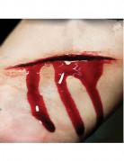 Schnittwunden-Tattoos Halloween-Wundentattoos 2 Stück rot