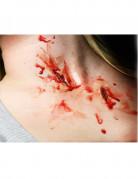 Tiefe Kratzer-Wunden als Abziehbild 2-teilig rot