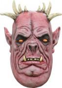 Korpulenter Dämon Halloween Latexmaske hautfarben