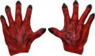 Monsterhandschuhe für Männer rot