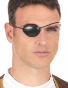 Augenklappe für Erwachsene Piraten-Accessoires chwarz