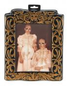 Wechselbild Wackelbild Unheimliche Halloween Dekoration gold-schwarz