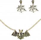 Halloween Hexen-Schmuck-Set für Erwachsene gold