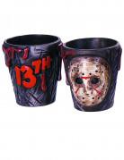 Horror-Gläser Freitag der 13.™ Lizenzartikel 2 Stück schwarz-weiss-rot 5x5cm